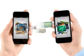 Smartphone Datentransfer